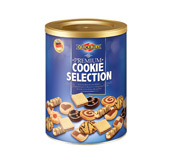 Premium Cookie Selection in tin