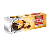 Shortbread Cookies Dark Choco Sugar Free